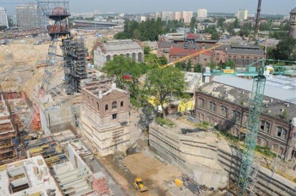 Znalezione obrazy dla zapytania budowa muzeum