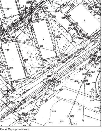Mapa po kalibracji