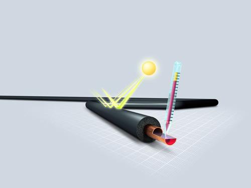 Pole tekstowe: Otuliny wykonane ze spienionego kauczuku syntetycznego charakteryzują się najlepszymi parametrami izolacyjnymi, fot. Armacell